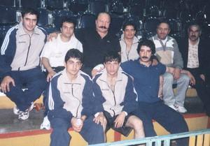 بوکسسورهای اردبیل همراه قهرمان اسبق بوکس اقای پرویز بادپا