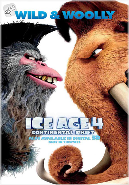 ice age continental drift ver7 دانلود انیمیشن  Ice Age 4: Continental Drift 2012