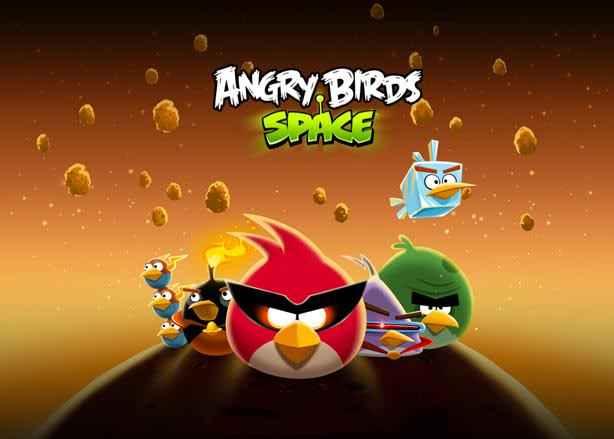 پرندگان خشمگین در فضا