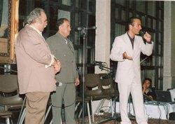 حسن ریوندی همراه  محمود شهریاری