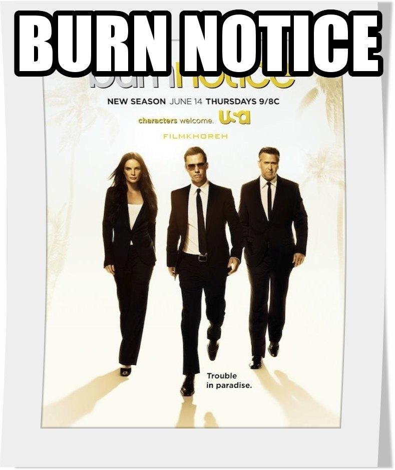 سريال Burn Notice فصل ششم