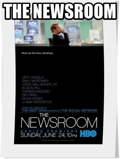 سریال The Newsroom فصل اول