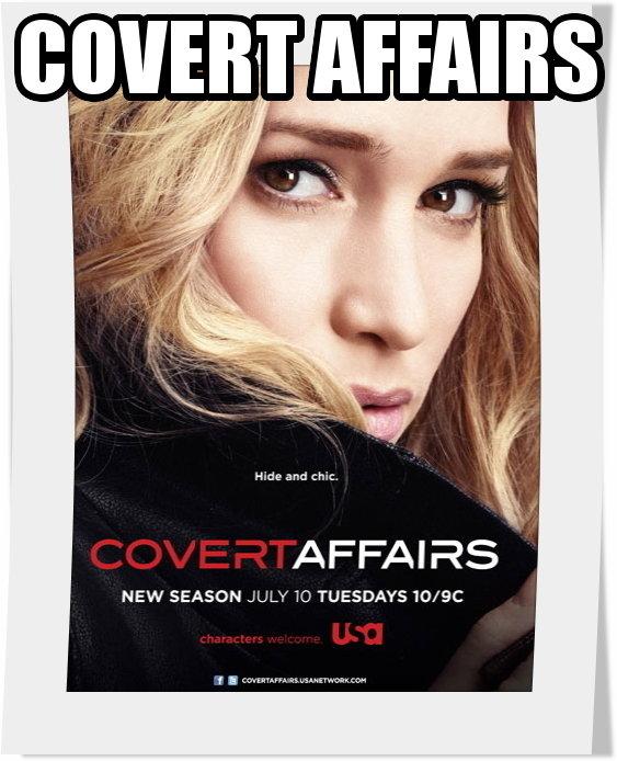 سریال Covert Affairs فصل سوم
