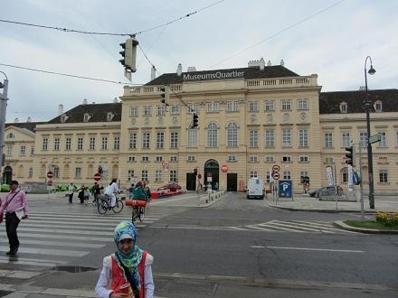 قسمتی دیگر از میدان موزه