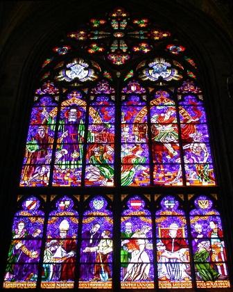 Votiv Kirche Window