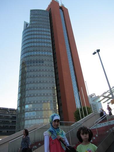 برجی در کنار دفتر سازمان ملل دروین