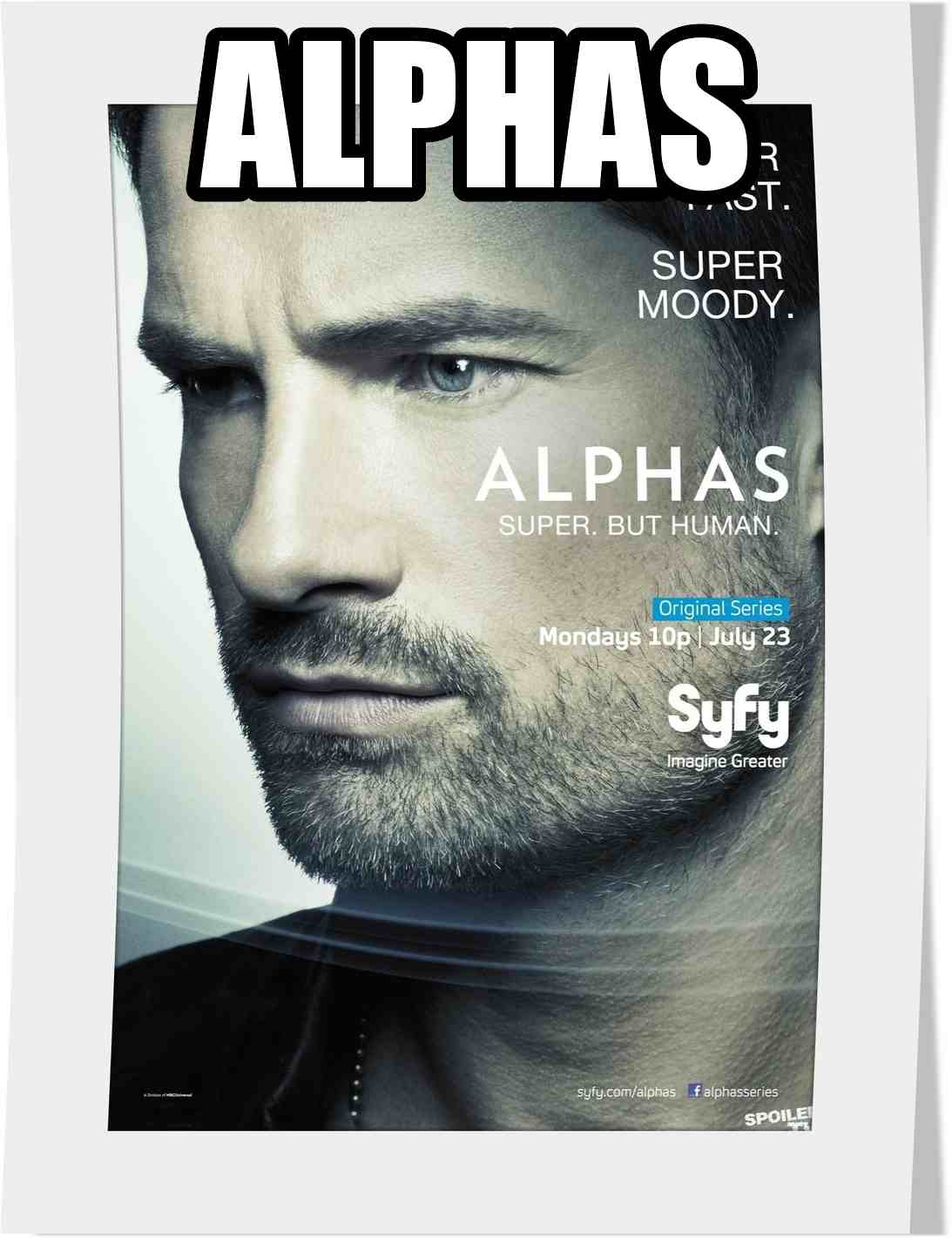 سریال Alphas فصل دوم