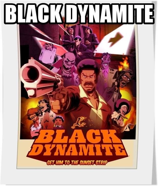 سریال انیمیشن black dynamite فصل اول