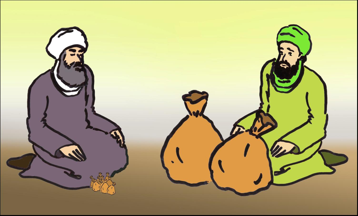 داستان مصوّر از امام حسن علیه السلام