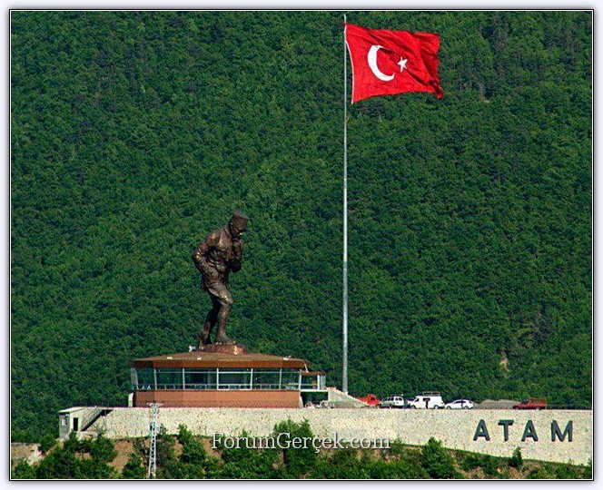 بزرگترین مجسمه آتاترک