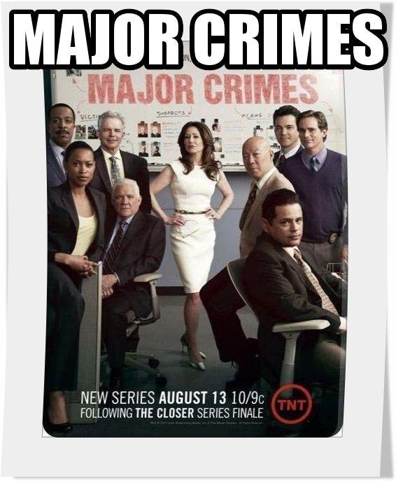 سریال Major Crimes فصل اول