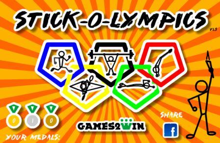 بازی آنلاین stick-o-lympics