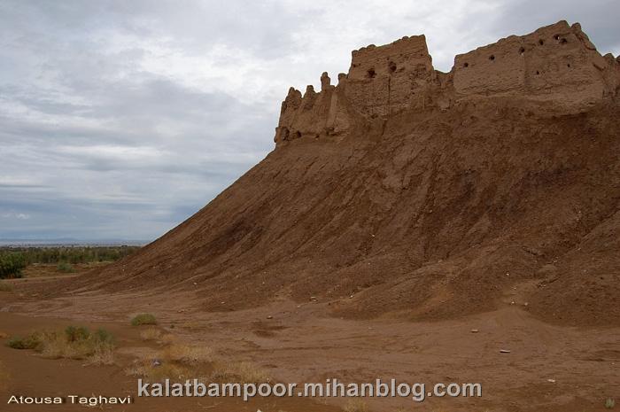 قلعه بمپور شکوه تمدن بلوچستان
