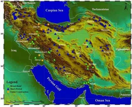 آشنایی با شبکههای لرزهنگاری مرکز لرزهنگاری کشوری - Seismic Local Networks of the Iranian Seismological Center