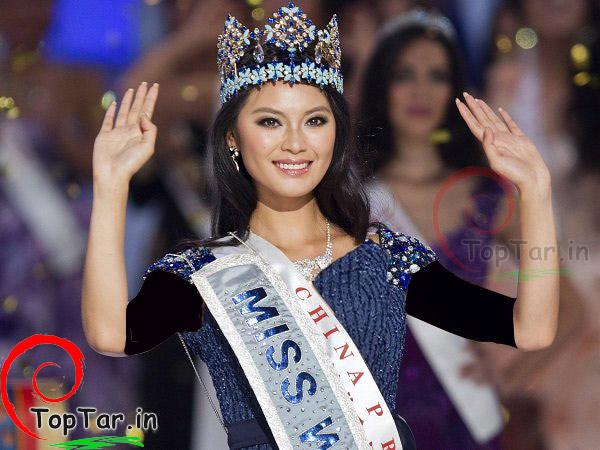 """عکس """" ون شیا یو"""" ملکه زیبایی سال 2012"""