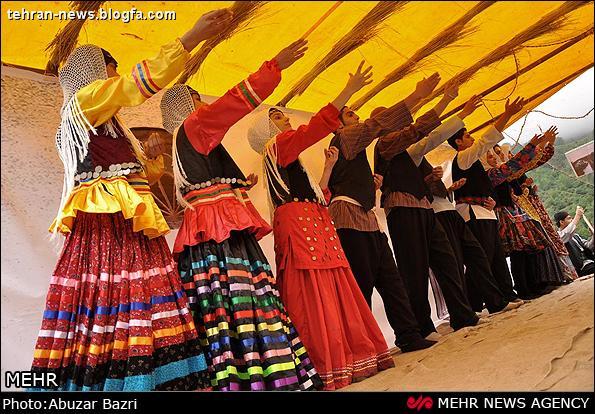 عکس های برگزاری جشنواره محلی ماسوله شهریور 1391