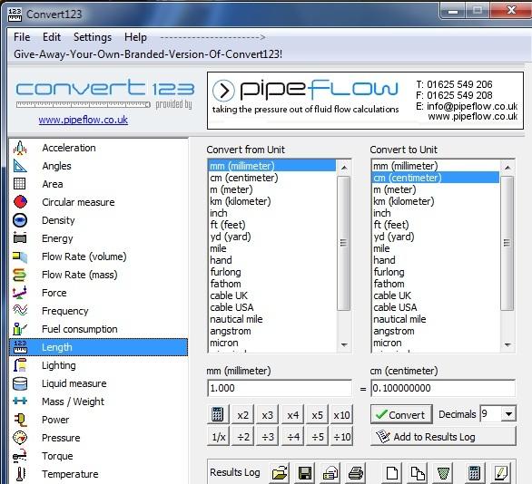 نرم افزار Convert123 v1.01