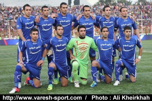 شکست داماش گیلان برابر فولاد خوزستان در دیداری دوستانه