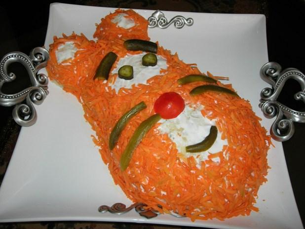 انواع تزئینات سالاد الویه