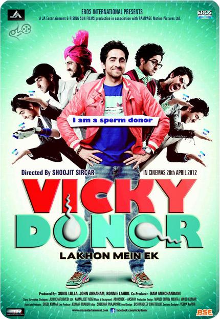 Cover BaranMovie115 Ver 3 دانلود فیلم Vicky Donor 2012