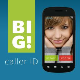 دانلود BIG! Caller ID ، نمایش تمام صفحه عکس تماس گیرنده
