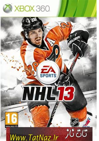 NHL 13 XBOX360 دانلود بازي NHL 13 براي XBOX360