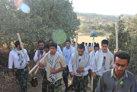 گروه جهادی نبی اکرم ص-کردستان -سریش آباد-قلقله-مریوان-محمدحیدری-جهادی سریش آباد