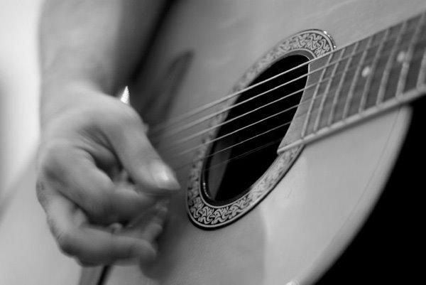 عکس های هنری از گیتار