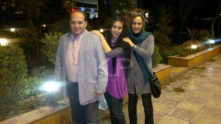 عکس شخصی ریما رامین فر و همسرش امیر جعفری
