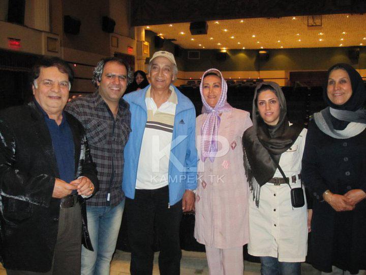 عکس جدید محمد پاک نیت و همسرش مهوش صبر کن