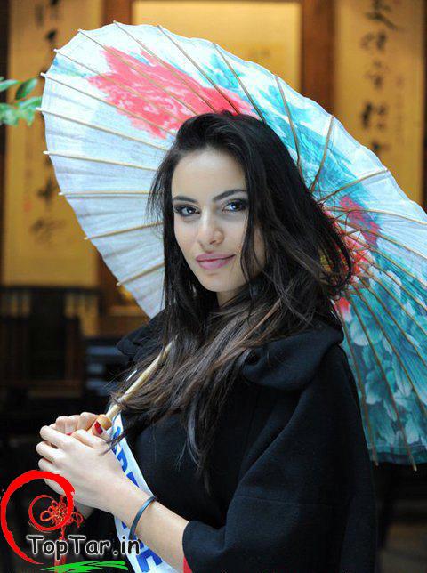 ماریا ساگاراکی زیباترین دختر یونان در سال 2012