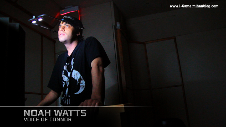 آقای Noah Watts صدا پیشه ی کانر در بازی Assassin's Creed III