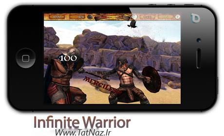 infinite warrior بازی جذاب و جنگی Infinite Warrior 1.0   آیفون و آیپد