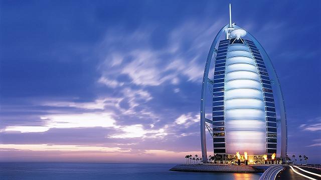 عکس برج زیبای العرب