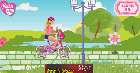 barbie games bycle دانلود بازی باربی دوچرخه سواری برای کامپیوتر