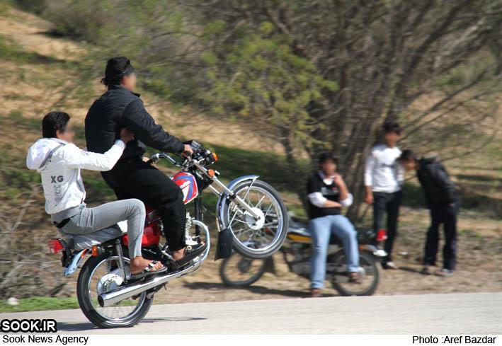 تکچرخ بچه های برازجان