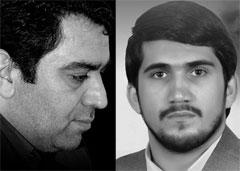 حاج حسن خلج و حاج محمد باقر منصوری