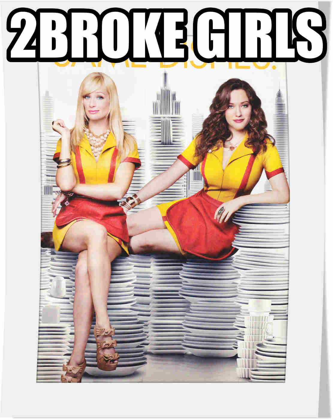 سریال 2Broke Girls فصل دوم