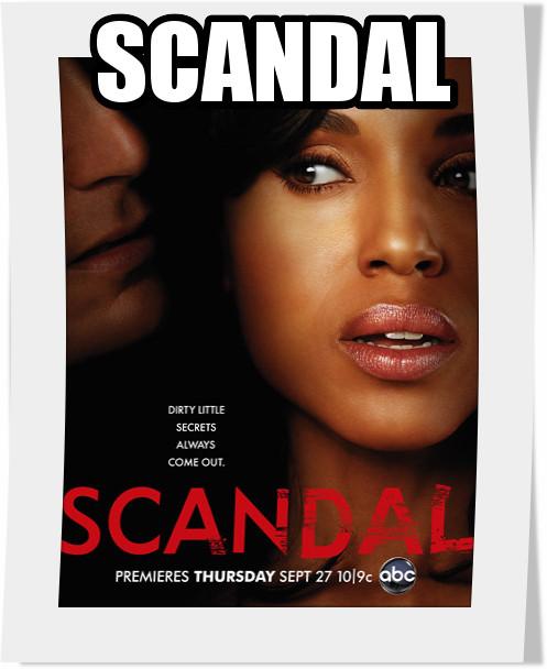 سریال Scandal فصل دوم