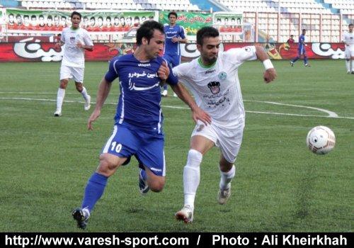 اختصاصی_گزارش تصویری بازی داماش گیلان - ذوب آهن اصفهان (۲)