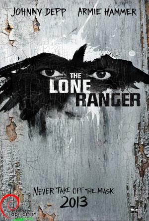 پوستر فیلم  The Lone Ranger در سال 2013