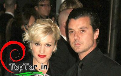 عکس گوئن استفانی و همسرش
