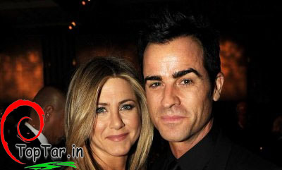 عکس جنیفر آنیستون و همسرش