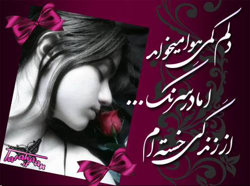 عکس نوشته صبح