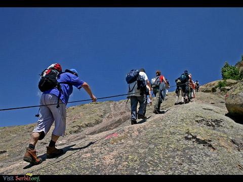 کوهنوردی ورزشی برای تقویت جسم و روح