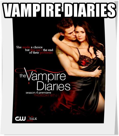 سریال Vampire Diaries فصل چهارم