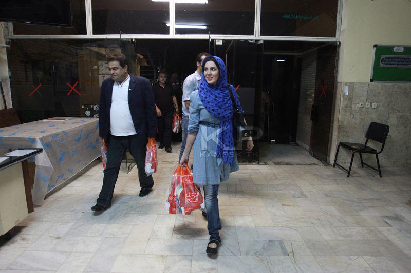 عکس های لیلا بلوکات در اصفهان