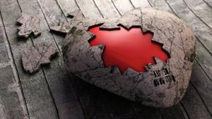 والپیپر سنگسار قلب