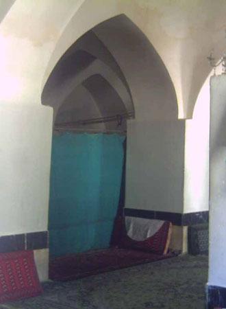 گوشه ای از طاق رومی های مسجد