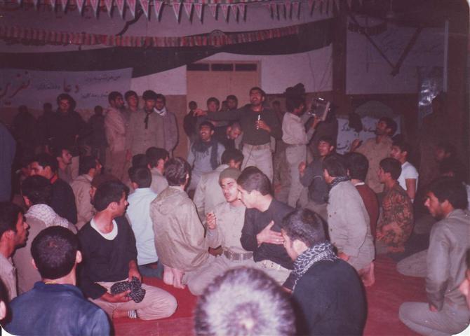 حسینیه سایت خیبر(پادگان شهید بهروز غلامی)